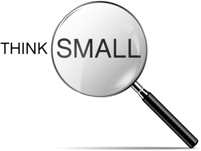 Think Small Graphic